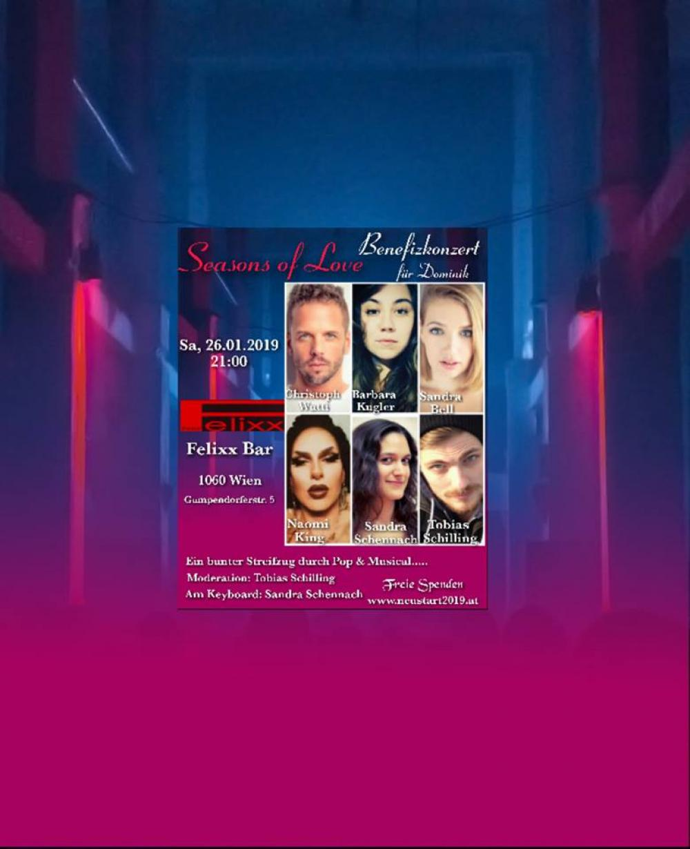 Seasons of Love - Benefizkonzert